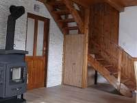 Obývací pokoj - chata ubytování Červená Řečice