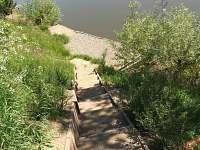 Schody k vodě - Červená Řečice