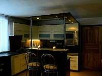 Kuchyň - apartmán k pronájmu Nový Rychnov