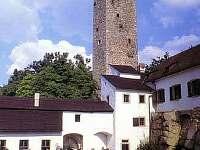 blízký hrad Roštejn