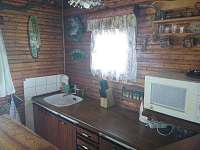 kuchyně - chata k pronajmutí Seč