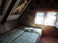 ložnice - pronájem chaty Seč