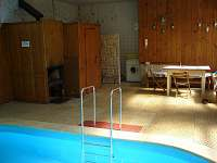 Bazén - posezení a sauna