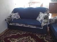 obývák - televizní koutek - chalupa ubytování Hořepník