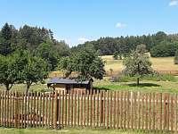 Zahrada - chalupa ubytování Kejžlice