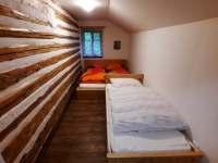 Poslední ložnička - chalupa ubytování Křižánky