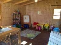 Herna pro děti, postupně pořizujeme nové aktivity a hračky :-)