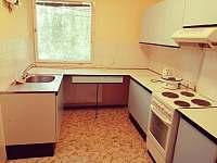 Kuchyně - rekreační dům ubytování Telč