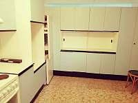 Kuchyně - rekreační dům k pronájmu Telč