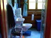 Koupelna v přízemí.