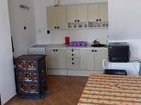 kuchyň - linka - apartmán ubytování Vepřová