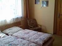 ložnice s dvoulůžkem - apartmán k pronajmutí Vepřová