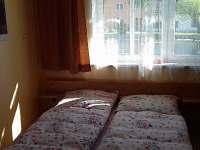 ložnice s dvoulůžkem - apartmán ubytování Vepřová