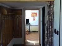vstupní chodba do penzionu - apartmán k pronajmutí Vepřová