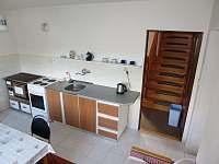 Kuchyně - chata k pronájmu Javorek