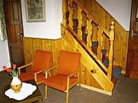 Obývací pokoj - chata ubytování Javorek