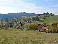 Podzimní pohled na Javorek -