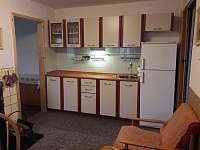Vybavená kuchyně - chata ubytování Fryšava pod Žákovou horou