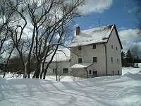 V zimě - chalupa ubytování Kuklík