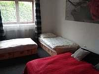 Ložnice 4 lůžka - pronájem apartmánu Nové Dvory