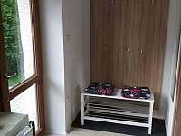 šatna - apartmán ubytování Nové Dvory