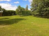 zahradní hry -badminton, petang,kroket, ... - Nové Dvory