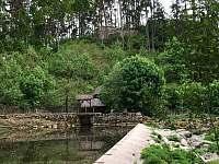 Zřícenina hradu Dub - chata k pronájmu Kamenná
