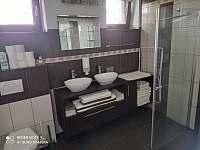 koupelna s WC - pronájem chalupy Mirošov u Bobrové