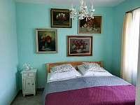 1. ložnice v apartmánu 1 - k pronajmutí Žirovnice