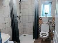 Koupelna apartmánu 3 - ubytování Žirovnice