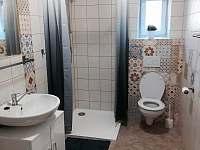 koupelna v Apartmánu 1 - k pronájmu Žirovnice