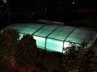 bazén - chalupa k pronajmutí Koroužné