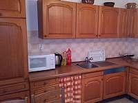 Kuchyň - chalupa k pronájmu Budíškovice