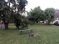 Zahrada - chalupa ubytování Budíškovice