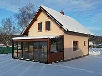 V zimně - Zdislavice - Splav