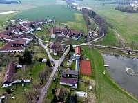 Pohled z hora - Lhota-Vlasenice