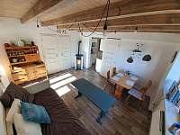 Chata Kateřina - obývací pokoj - ubytování Trhová Kamenice