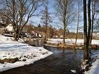 soutok řek - pronájem chalupy Jimramov