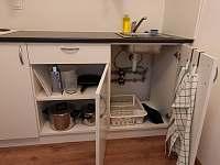 detail vybavení kuchyně - apartmán k pronájmu Nové Město na Moravě