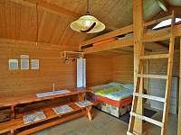 Vybavené sruby - interiér - ubytování Zvole nad Pernštejnem