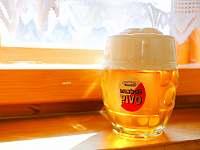 Na čepu pivo Dalečice - pronájem chalupy Fryšava pod Žákovou horou