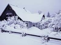 Zima na Vysočině - pronájem chalupy Fryšava pod Žákovou horou