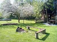 Ohniště na zahradě - Nové Město na Moravě - Olešná