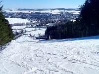 Sjezdovka Harusův kopec, sedačková lanovka - 7 km - Nové Město na Moravě - Olešná