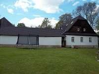 Trampolína na zahradě - Nové Město na Moravě - Olešná