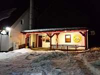 Zimní vstup restaurace - Nové Město na Moravě - Olešná