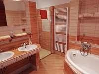 koupelna - chalupa k pronajmutí Uhřínov