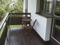 Balkon 1. podlaží - chata k pronájmu Polnička