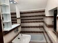 Koupelna - chata k pronajmutí Polnička