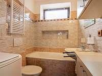 přízemí koupelna - chata k pronájmu Leškovice